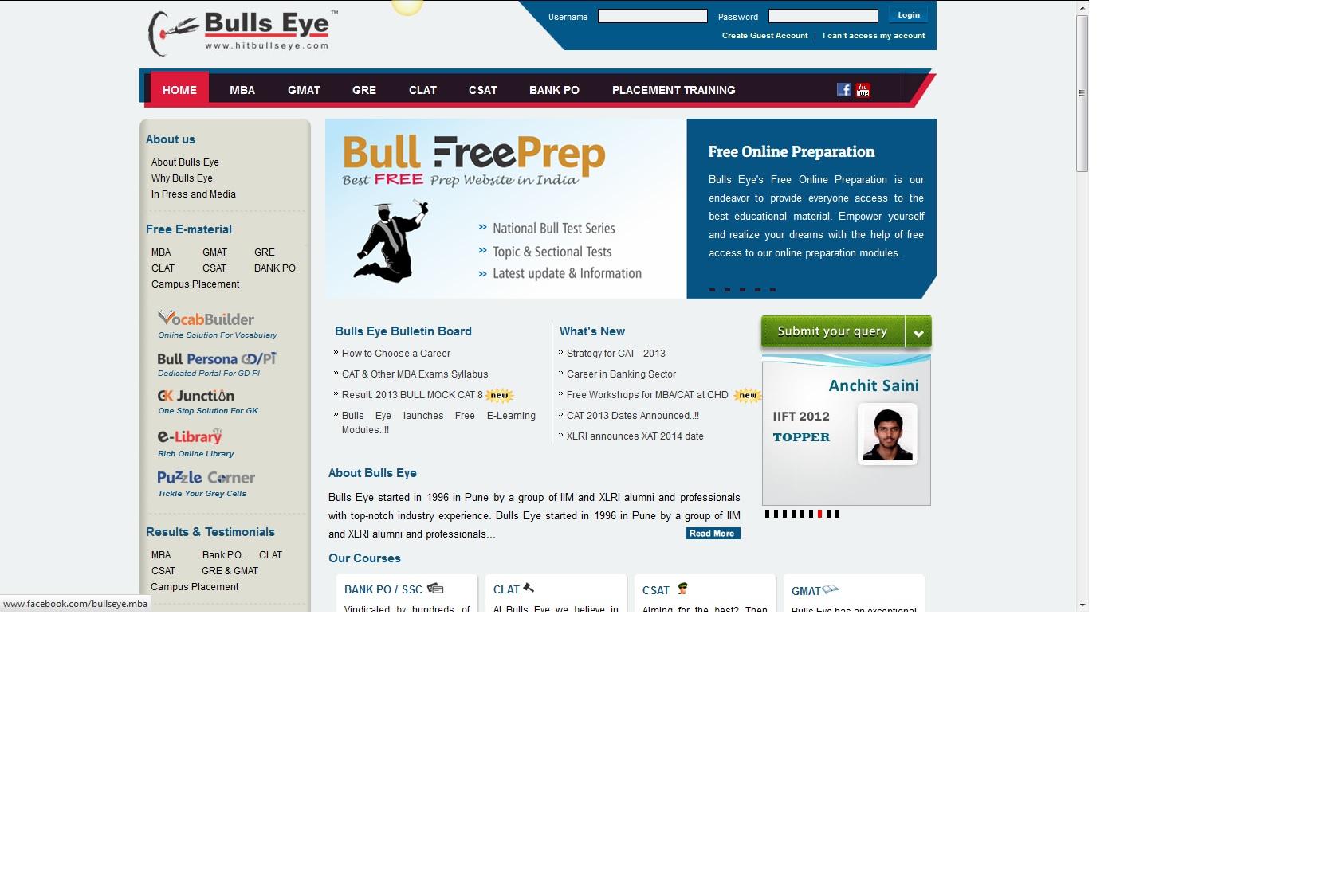 Online Question Bank | Cybrain Software Solutions Pvt Ltd www